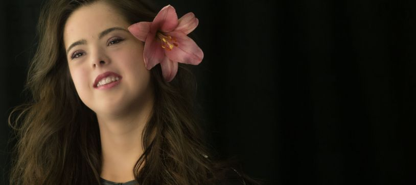 La chica con síndrome de Down que quiere triunfar como modelo